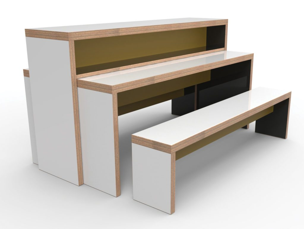 Learniture Heppell Bench